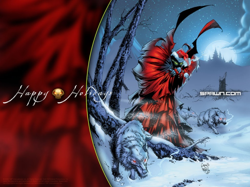 Christmas (Because I'm to lazy to spell out the other holidays, and don't want to spell solstice wrong) Spawn-10