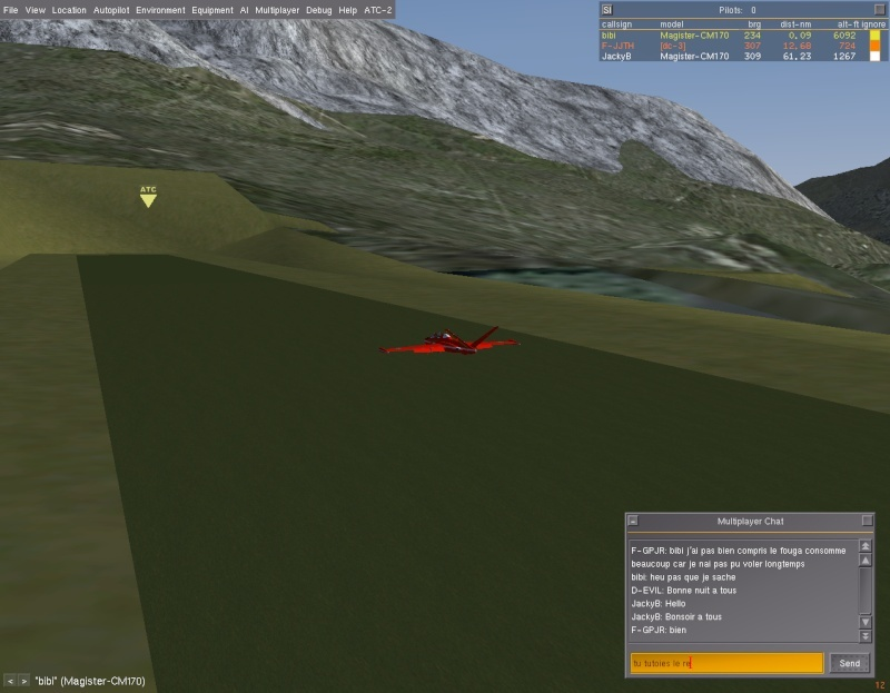 Entraînement voltige en Fouga à LFLG Fgatcb14