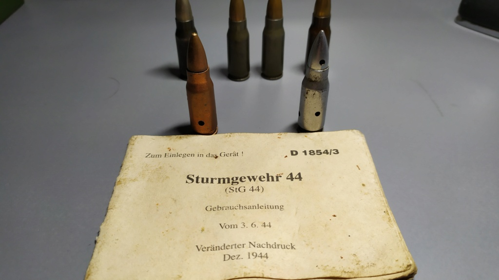 7,92 x 33 Kurz Patrone - Pistolen Patrone 43 m.E - Page 2 Img_2349