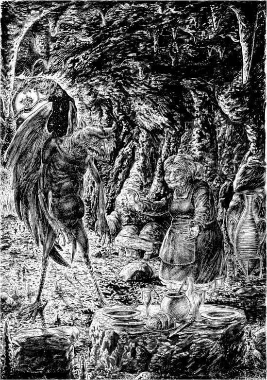 la vie cachée des chevaliers Diable11