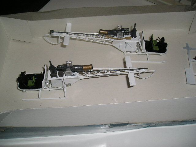 Alouette II - Heller - 1/48 ème - BD Largo Winch Deux_e10