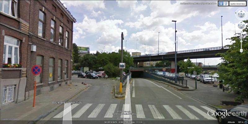 Street View : Un pont , au dessus d'un pont , au dessus d'une rivière  Charle10