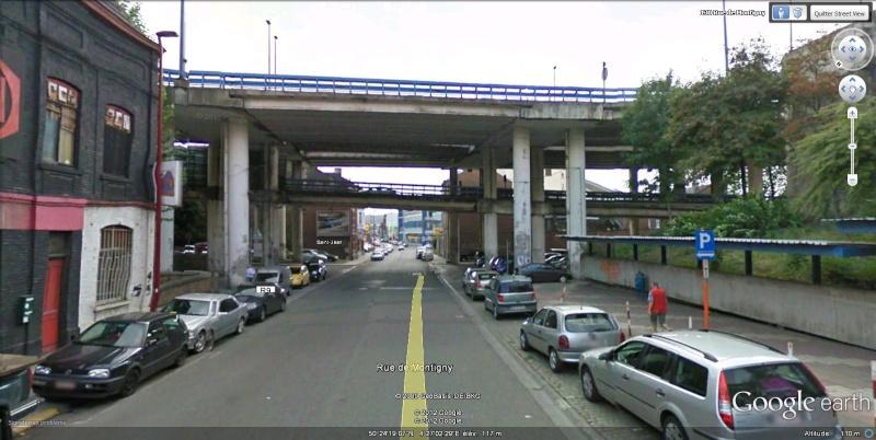 Street View : Un pont , au dessus d'un pont , au dessus d'une rivière  Charle11