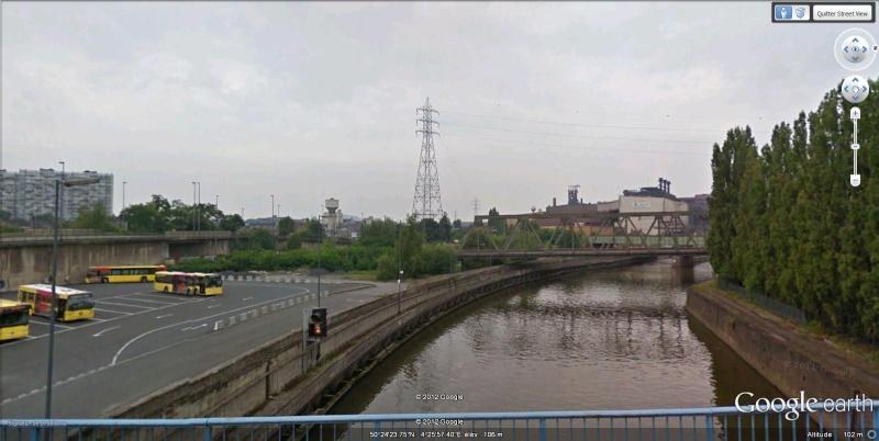 Street View : Un pont , au dessus d'un pont , au dessus d'une rivière  Charle15