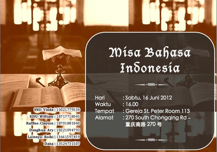 Misa Katolik Berbahasa Indonesia - 16 Juni 2012 Screen13