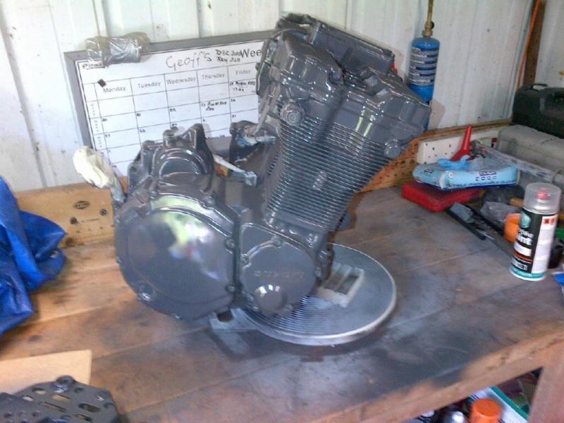 peinture moteur GSXR ah  99592210