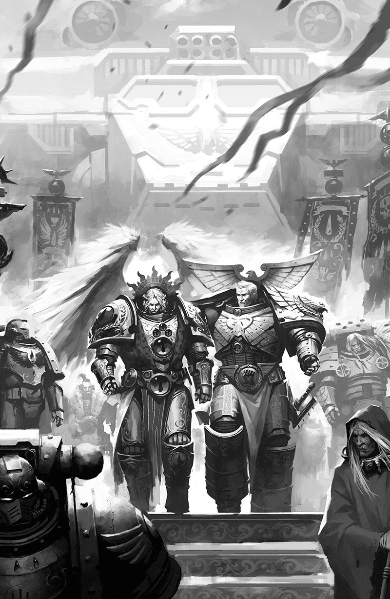 [W30K] Collections d'images : Les Primarques - Page 35 Arriva10