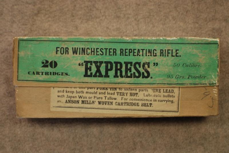 Boites de munitions antiques...... Winche11