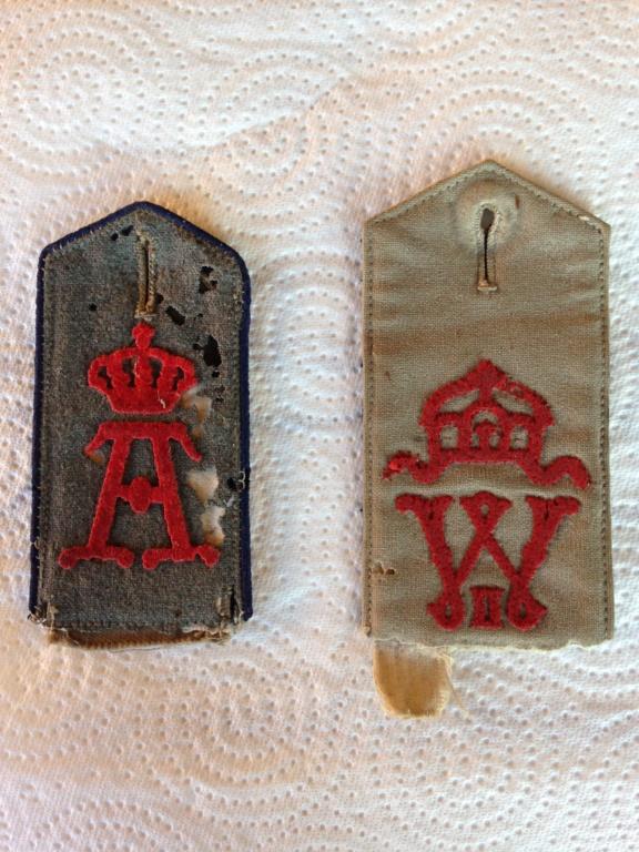 Identification épaulette allemande WW1 Img_4710