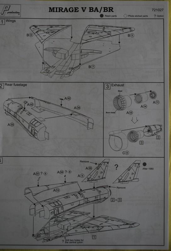 [PJ Prod] 1/72 Mirage 5BA / BR Image034