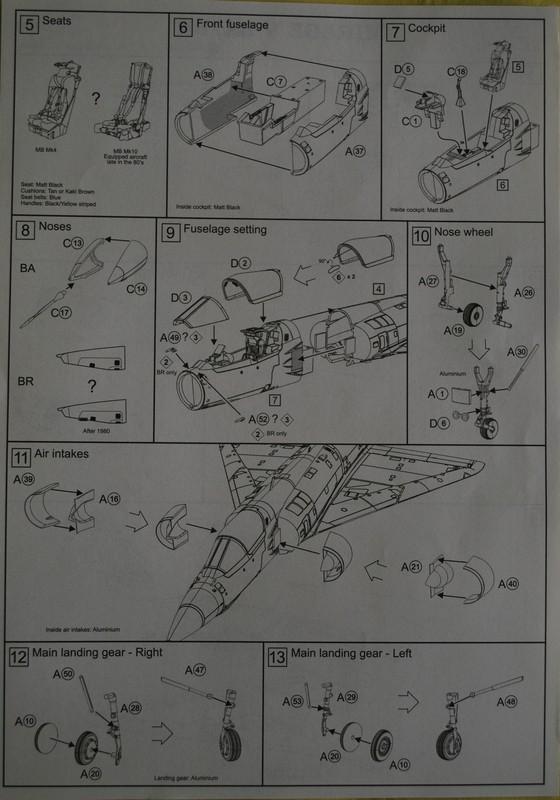 [PJ Prod] 1/72 Mirage 5BA / BR Image035
