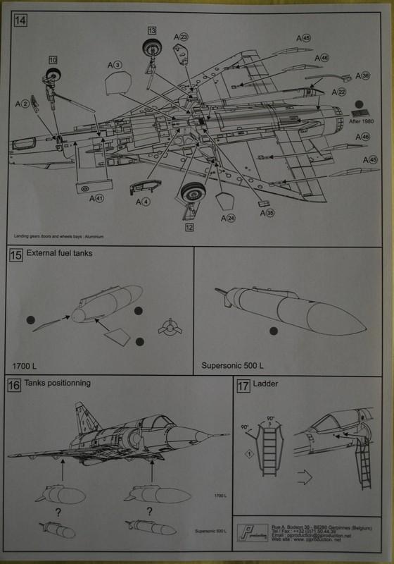 [PJ Prod] 1/72 Mirage 5BA / BR Image036