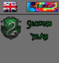British - Halfblood - Slytherin Second Year