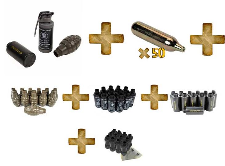 Grenade paintball Captur17