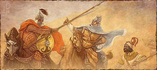 Chronologie, Factions et Carte du Harad Harad-12