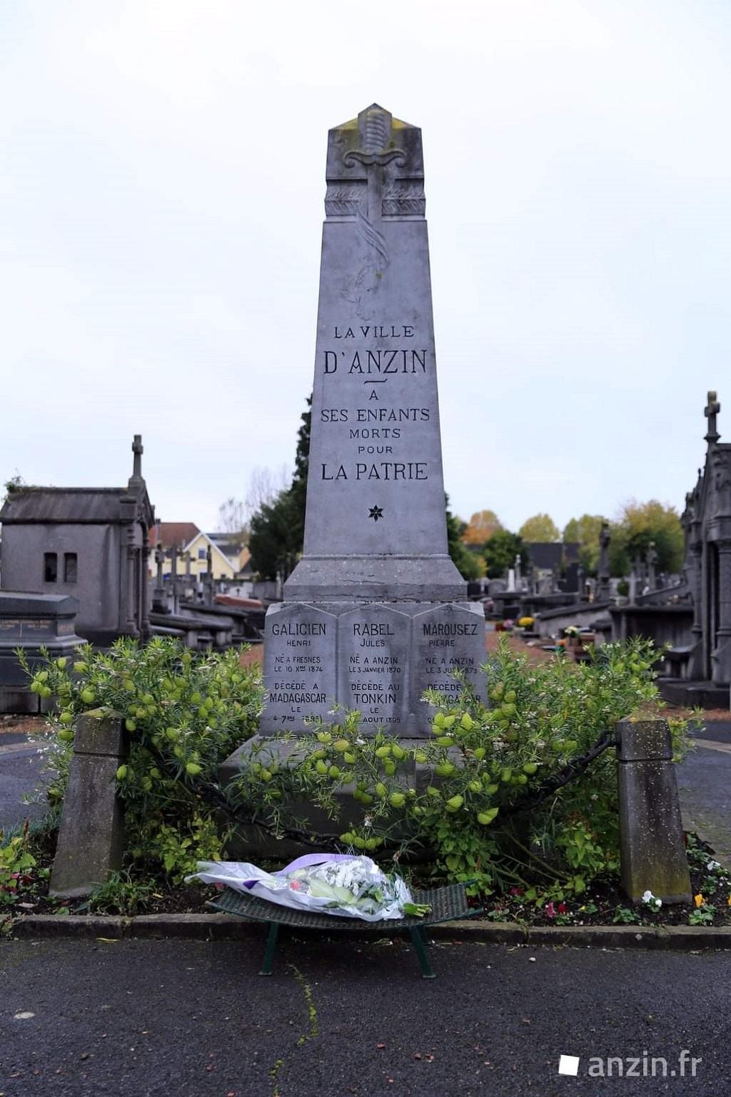 [ Histoires et histoire ] Monuments aux morts originaux Français Tome 2 - Page 24 Anzin_36