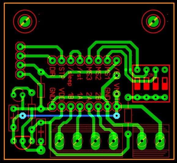 Realisation de circuit imprimé avec routeur Mach3 Pololu10
