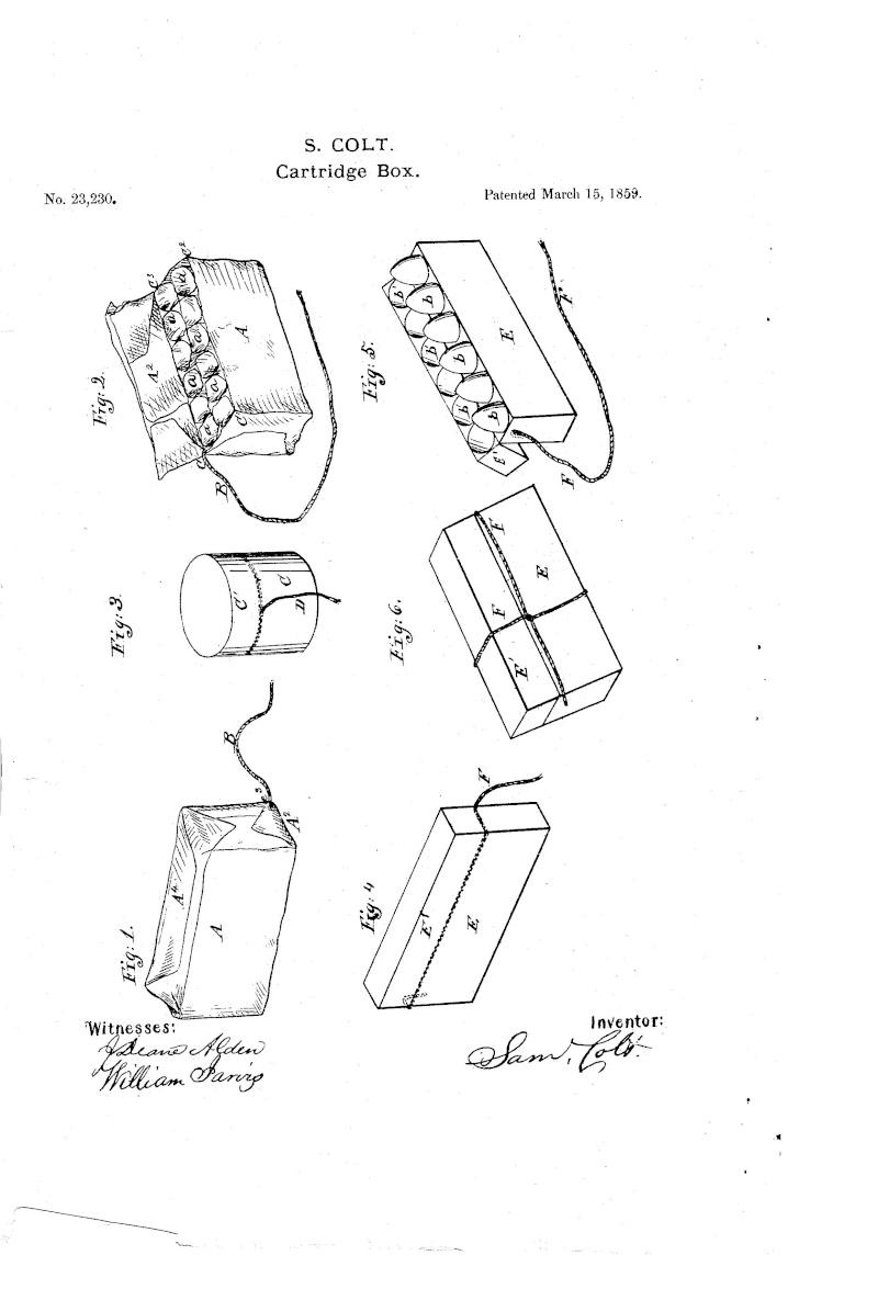 Boites de munitions antiques...... Cartri11