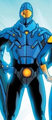 Fiche technique de Ted Kord - Blue Beetle II Blue_a10
