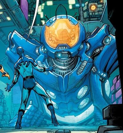 Time, Science, Troubles & Friends [Blue Beetle] Rco01410