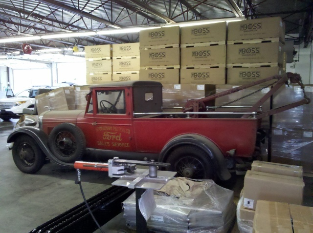 Old Photo Tow Truck Lincol11
