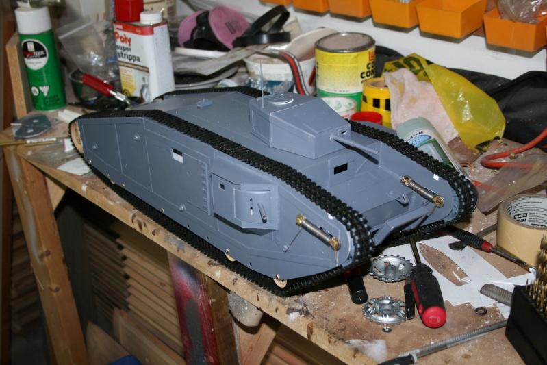 MK VII / Last Crusade WW1 Tank  - Page 2 Img_6721
