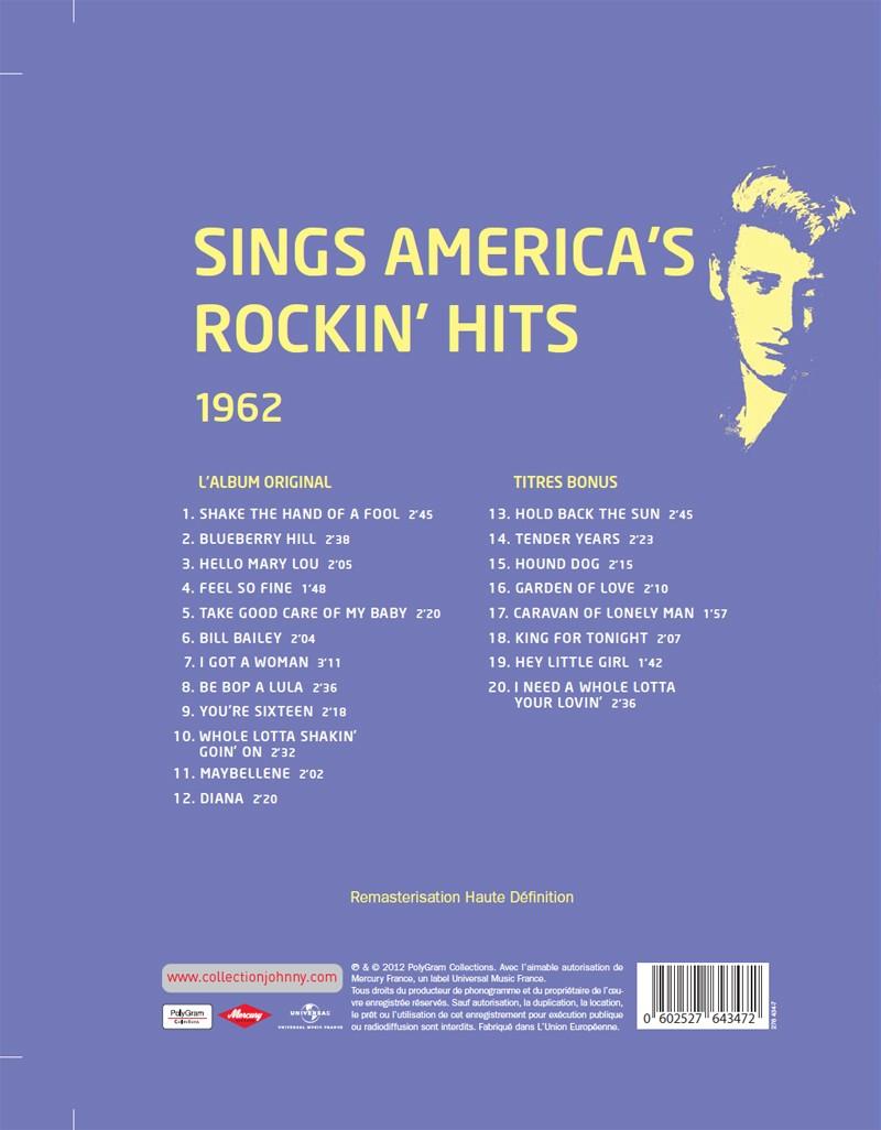 N° 34 1962 Sings America's Rockin' Hits Jhcoll13