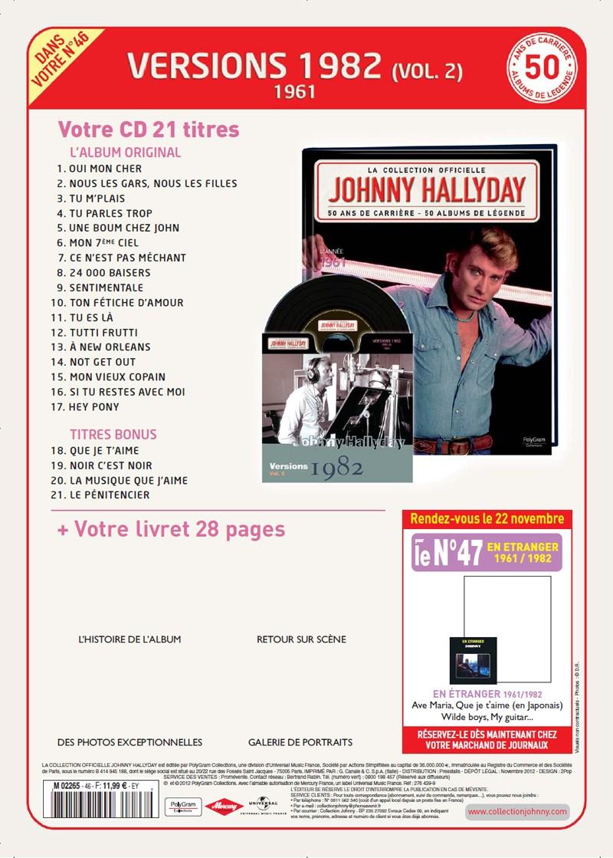 N° 46 1961 Versions 1982 Vol 2 Jhcoll47