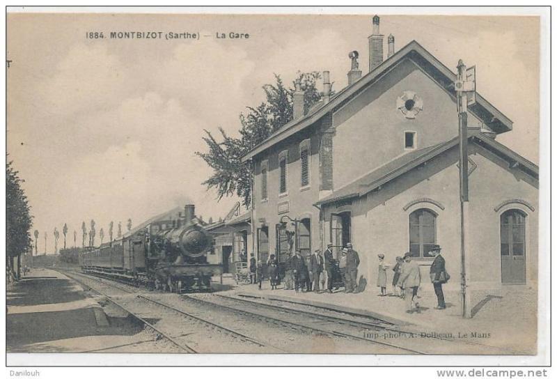 Gare de Montbizot (PK 19,4) 117
