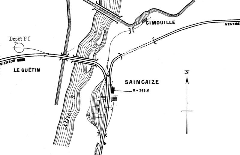 Gare de Saincaize (PK 291,8) - (PK 263,6)  1200px13