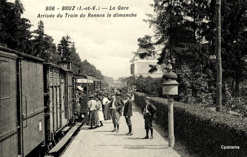 Gare de Bruz (PK 383,9) 127