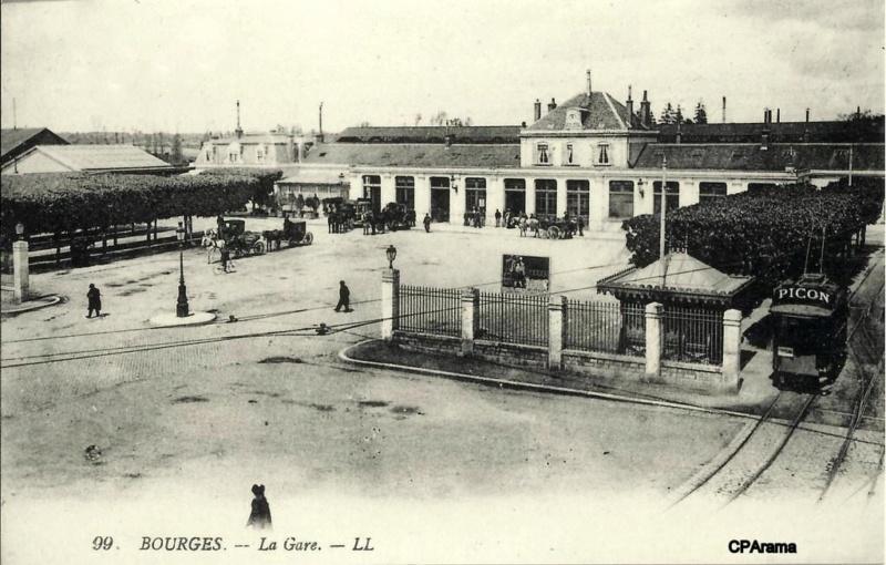 Gare de Bourges (PK 232,8) 13699914