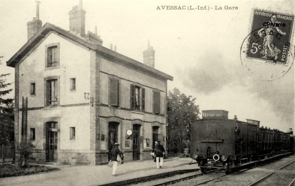 Gare d'Avessac (PK 436,9) 13803410