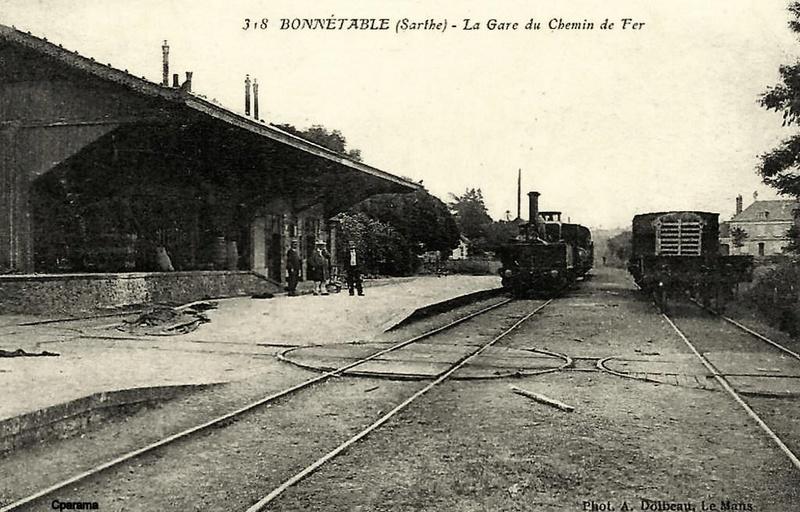 Gare de Connerré-Beillé (PK 186,7) 13825310