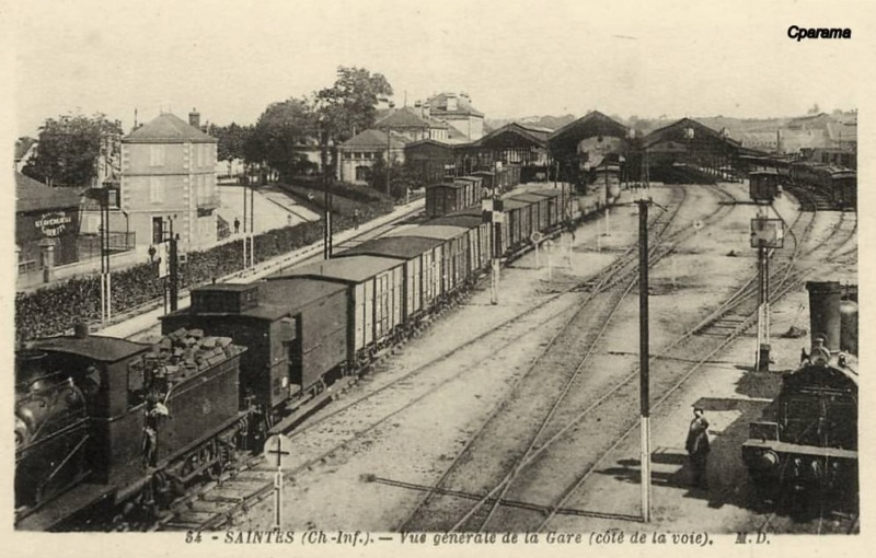 Gare de Saintes (PK 491,6) 13825910