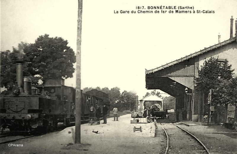 Gare de Connerré-Beillé (PK 186,7) 13826010