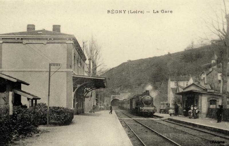 Gare de Régny (PK 437,2) 13860710