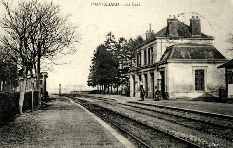 Gare de Montabard (PK 109,4) 13886611