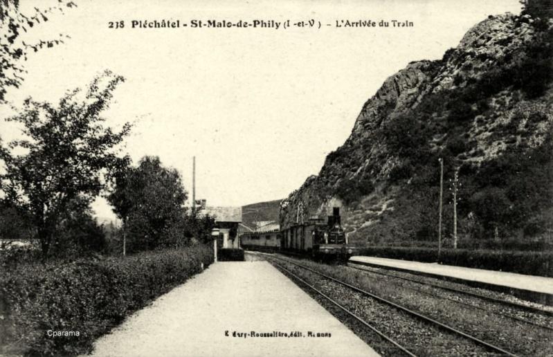 Gare de Pléchâtel (PK 403,1)  13934310