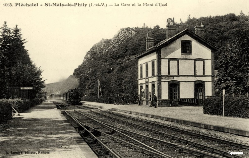 Gare de Pléchâtel (PK 403,1)  14653110