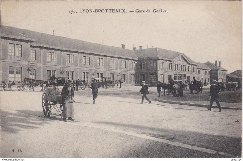Gare de Lyon-Brotteaux (PK 506,8) - (PK 5,7) 190910