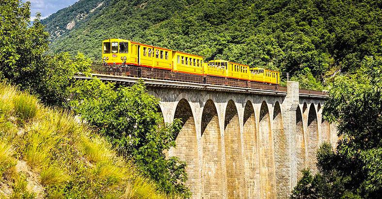 Ligne de Cerdagne (train jaune) 25418e21