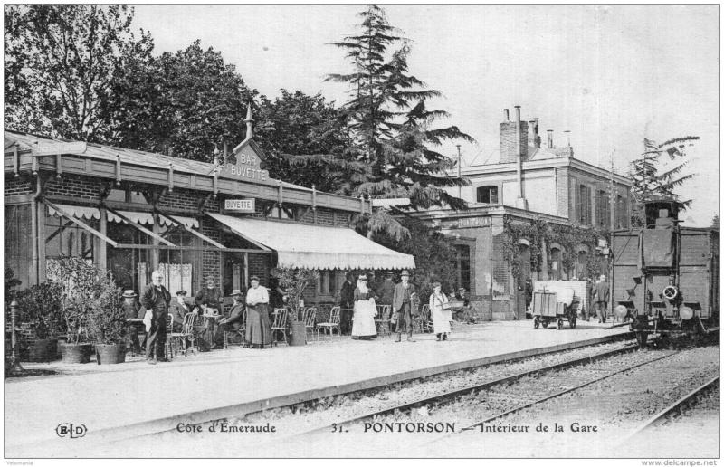 Gare de Pontorson - Mont-Saint-Michel (PK 115,8) 360_0010