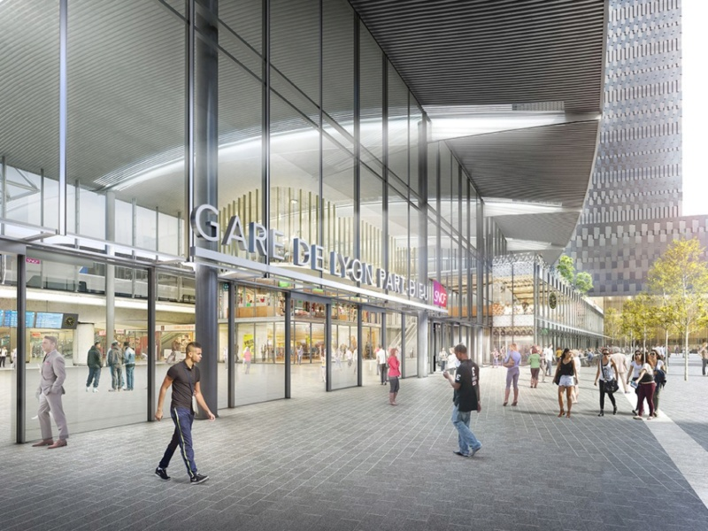 Gare de Lyon-Part-Dieu (PK 507,5) - (PK 5) 414