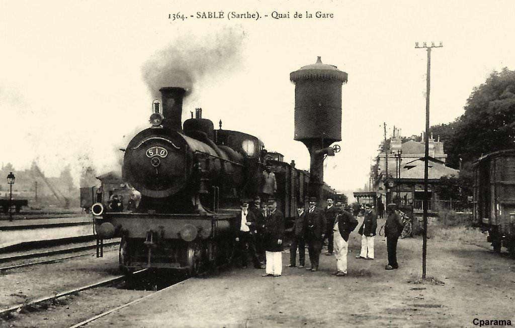 Gare de Sablé-sur-Sarthe (PK 258,9) 416