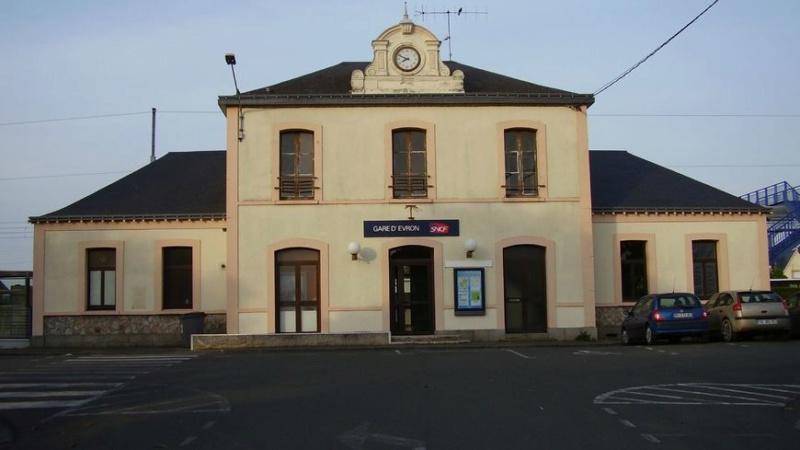 Gare d'Évron (PK 269,4) 870x4834