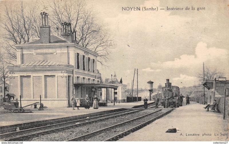 Gare de Noyen-sur-Sarthe (PK 239,3) D10