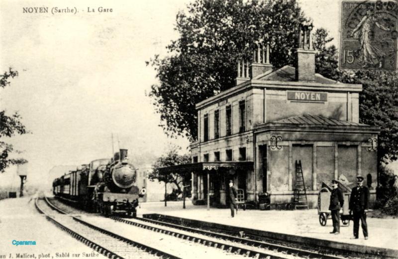 Gare de Noyen-sur-Sarthe (PK 239,3) N210