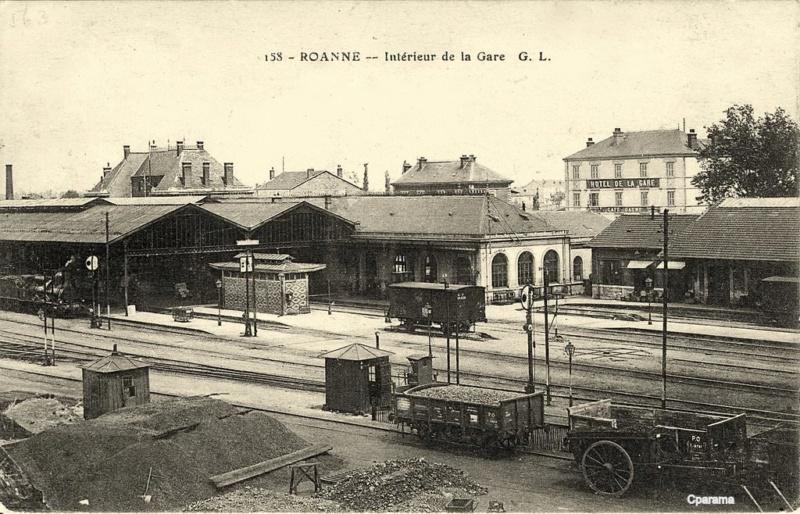 Gare de Roanne (PK 420,5). Roanne10