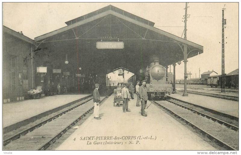 Gare de Saint-Pierre-des-Corps (PK 308,5) - (PK 233) S110